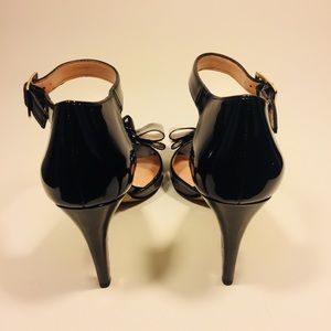Sole Society Shoes - Brand New Sole Society Patent Peep-Toe Pumps